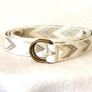 Fabric D-Ring Belt